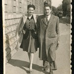Celso Emilio and Moraima, before being married. Gijon, May, 1937 (Photo Unifa, Gijon)