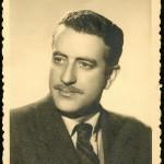 Fotografía de estudo realizada por Pacheco en Vigo, o 11 de abril de 1953.