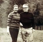 De vacaciones con Moraima en Los Andes venezolanos (Santo Domingo), en agosto de 1968.