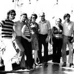 La familia Ferreiro en la despedida de Venezuela. La Guaira, 5 de mayo de 1973.