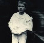 Vestido de Primeira Comunión. Celanova, 1920.