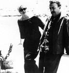 Con Moraima en las Conversaciones Poéticas de Formentor, 1959.