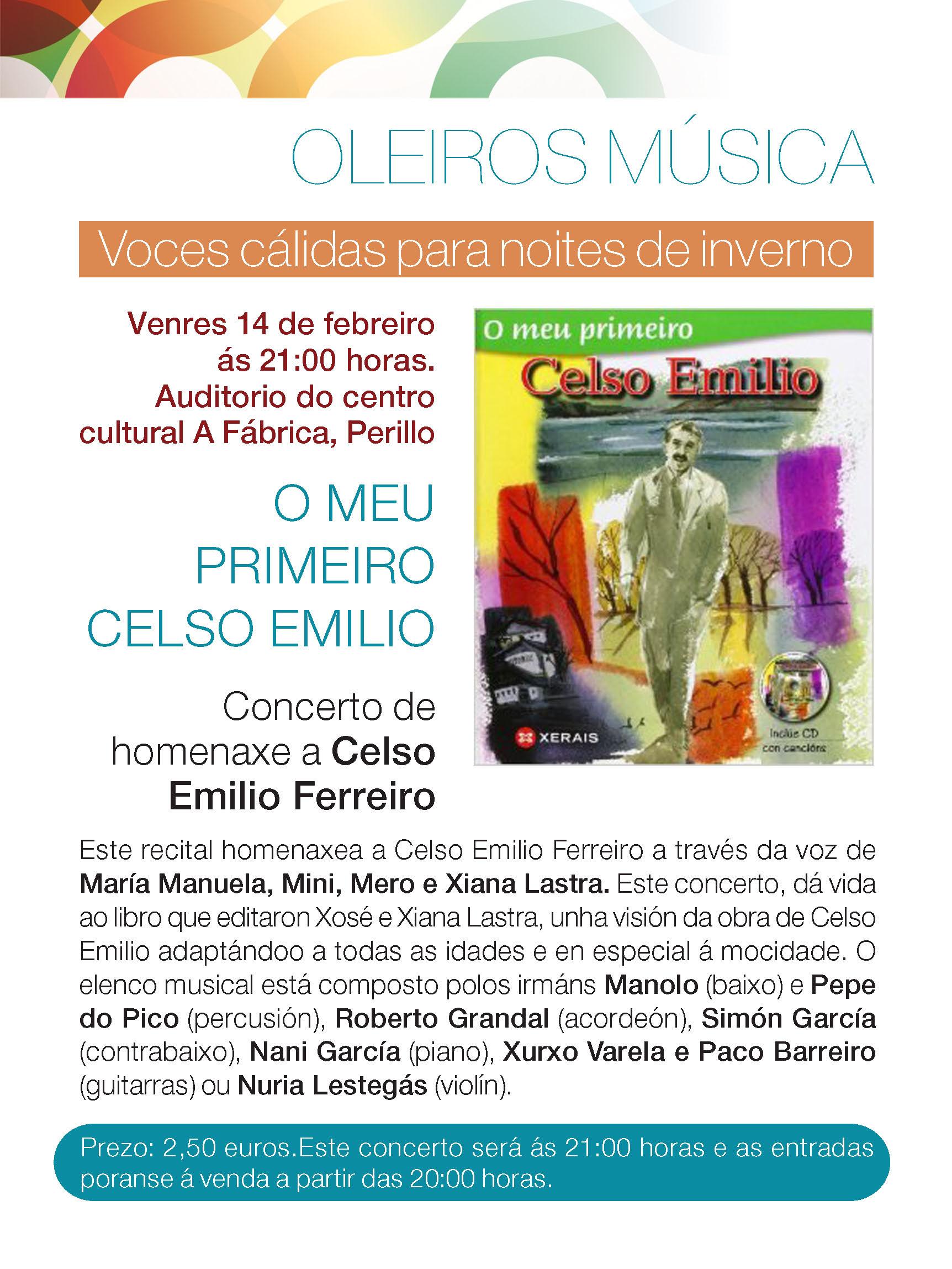Homenaxe a Celso Emilio,Oleiros