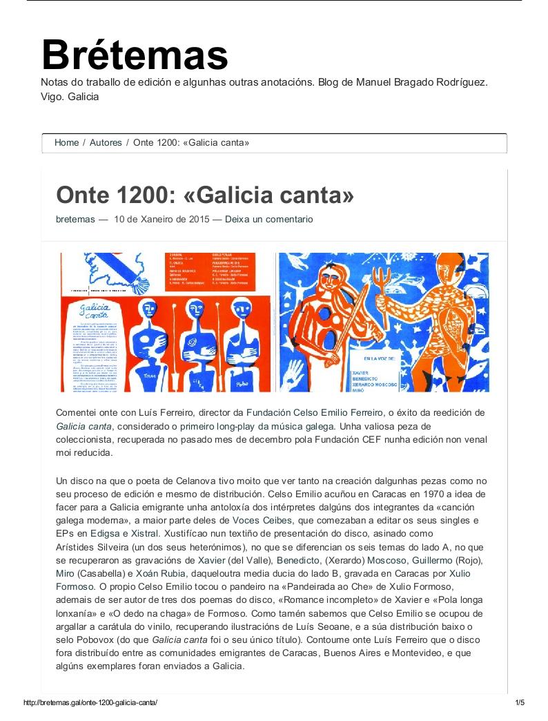 Onte 1200_ «Galicia canta» _ Brétemas_001