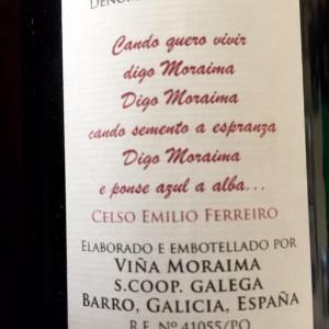 Viño Moraima