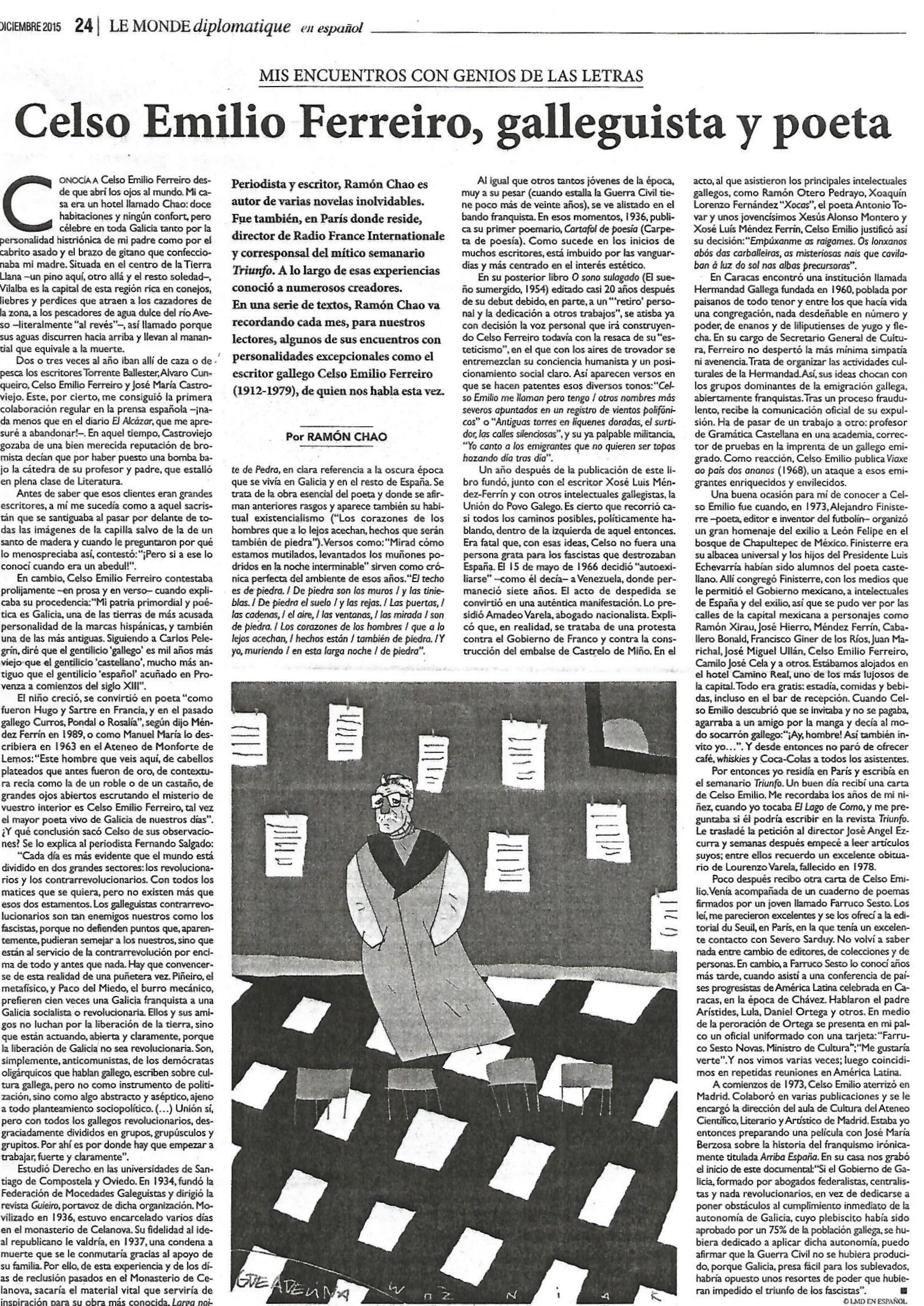 Le Monde Diplomatique, 1 Páxina