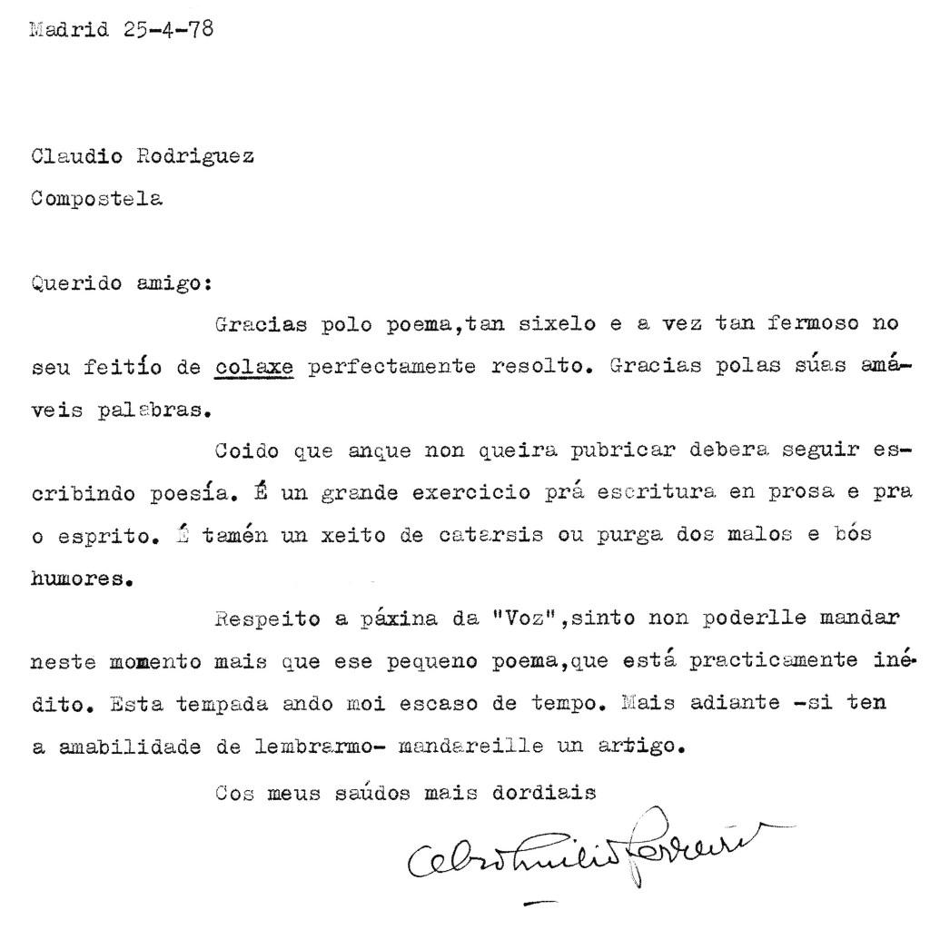 Carta inedita de Celso Emilio2